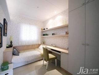 简约风格二居室5-10万60平米玄关衣柜新房家装图片