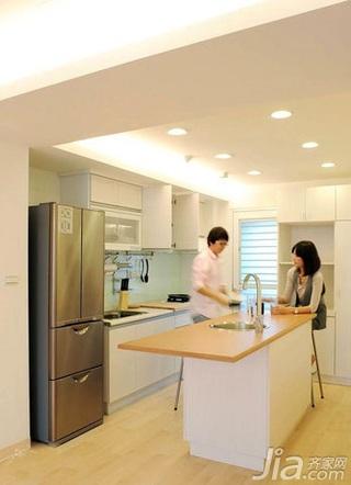 简约风格二居室5-10万70平米玄关橱柜新房家居图片