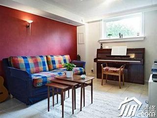 简约风格复式豪华型130平米客厅沙发图片
