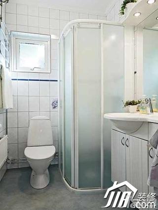 简约风格复式豪华型130平米卫生间洗手台图片