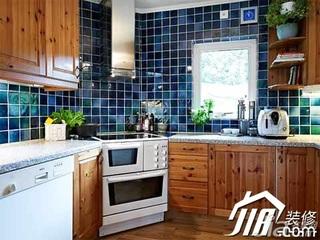 简约风格复式实用豪华型130平米厨房橱柜图片