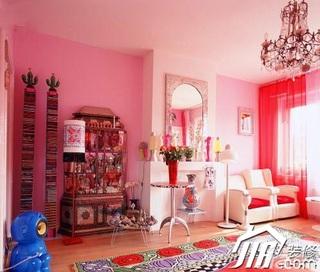 简约风格公寓温馨豪华型120平米客厅沙发效果图