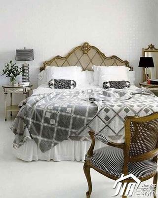 欧式风格别墅20万以上卧室床图片