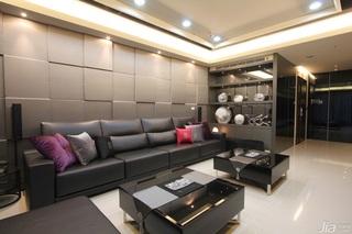 现代时尚炫酷黑色软装 大气沉稳居室