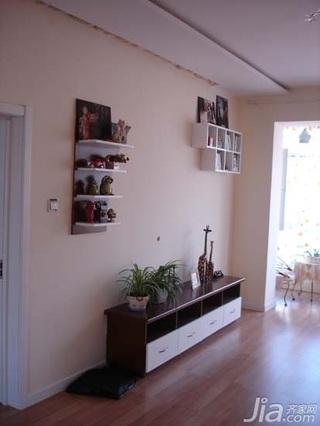 田园风格二居室10-15万100平米客厅电视柜新房家居图片