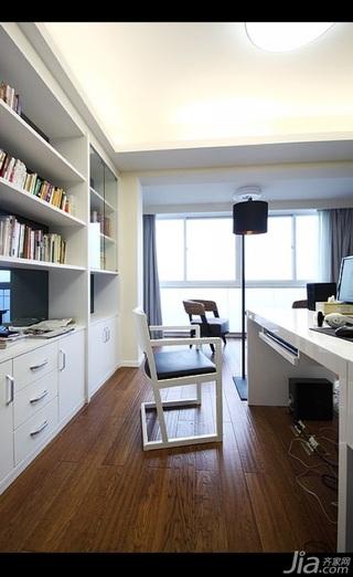 简约风格四房简洁15-20万120平米儿童房书桌新房家居图片
