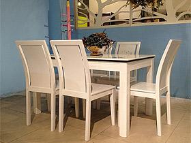 时尚现代款大理石印花餐桌