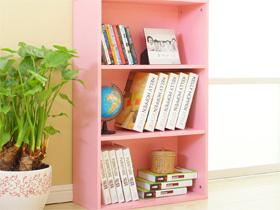 宜家风三层儿童书柜