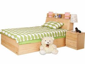 环保松木儿童卧房卧室套件