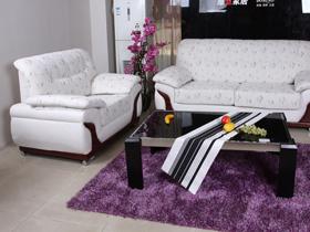 地中海风情1+2皮布沙发