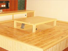 榻榻米和室桌 旋转桌 日式桌子 炕桌 日式升降桌 矮桌