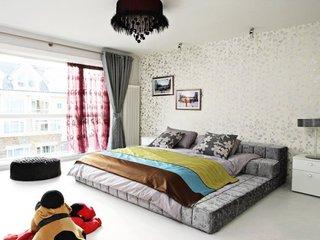 22个时尚明亮的卧室榻榻米