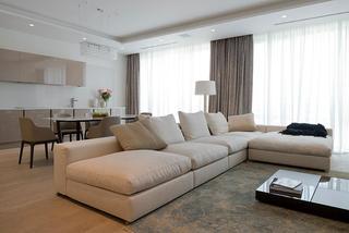 60平方小户型 现代简约节奏感公寓