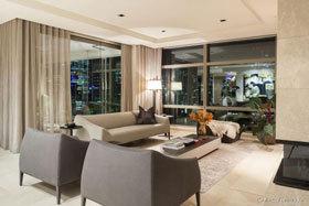 坐落在天际线上的公寓  澳大利亚现代两室公寓