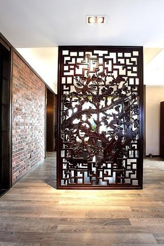 92平中西合璧混搭家 复古瓷砖与地板