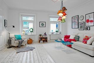 赏70平米瑞典公寓 舒适空间完美打造