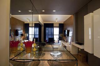 45平米现代风格巴西小户型公寓