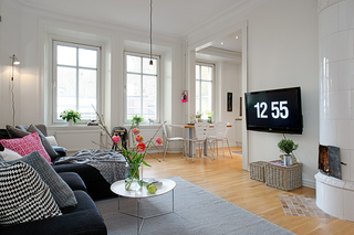 57平米的簡約溫馨風格美家 你值得擁有