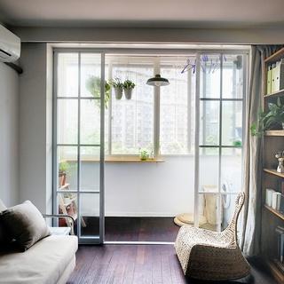 43平米的温馨小公寓 麻雀虽小五脏俱全