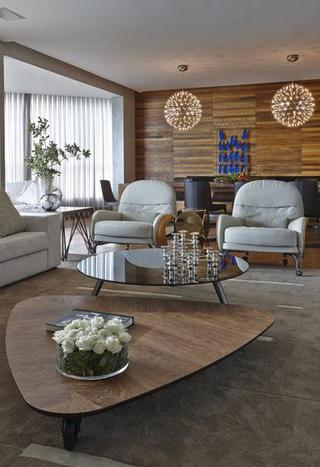 成熟与优雅的完美混搭 巴西现代乡村风混搭公寓
