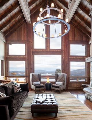 美式乡村风格别墅设计 大美乡村