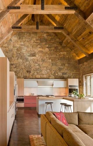 美式乡村风格木结构别墅 体验乡村文化
