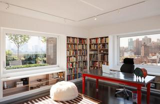 纽约的东村公寓 公寓的简单装修