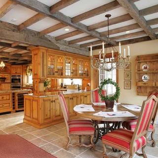 不同风格的厨房范例 真爱如血系列现代厨房装修设计