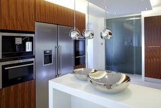 厨房装修有妙招 现代风格厨房有味道