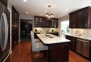 华丽厨房改造 你的厨房也能那么复古