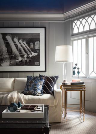 清爽简洁的简约风格公寓设计
