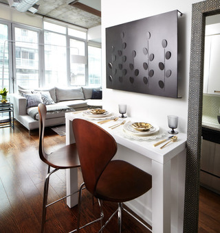 宜家风格的大空间公寓装饰