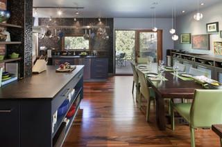 现代简约风格厨房设计  让你的厨房与众不同