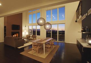 現代簡約風格別墅設計  簡約中透露著時尚的氣息