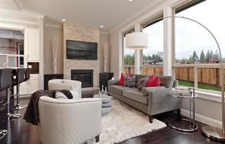 简欧公寓装修 你家也可以这么美的