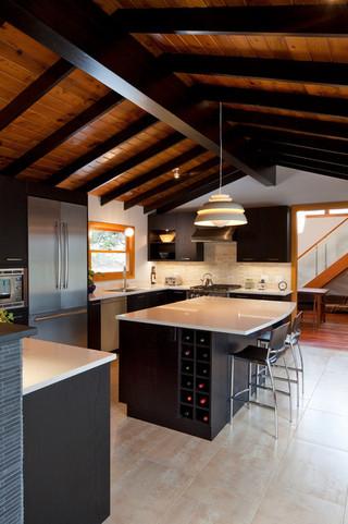 宽大厨房别墅装修 厨房大更爱做饭