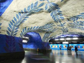如入艺术殿堂 最具创意的地铁站