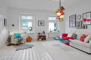 70平米彰显迷人明亮北欧风格公寓