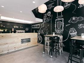 塞尔维亚精致咖啡厅 工业与艺术的完美结合