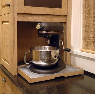 厨房隐蔽收纳柜   给予厨房更大空间