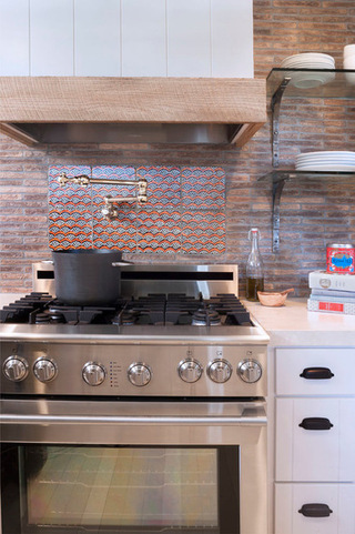 美式厨房——低调的宜家风格