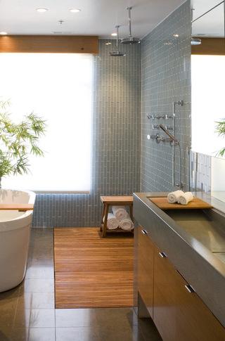 典雅的复古卫浴展览 提升卫生间的品质