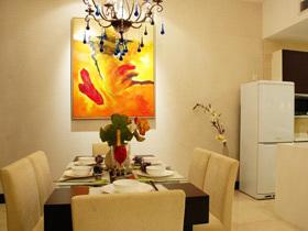 簡潔舒適 22個簡約餐廳背景墻設計