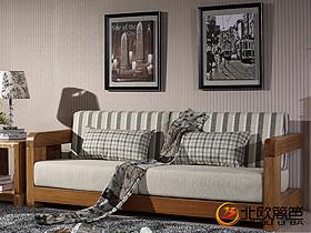 最爱中式风 原木中式客厅