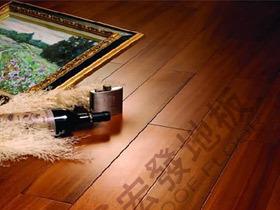 东南亚风情圆盘豆实木地板