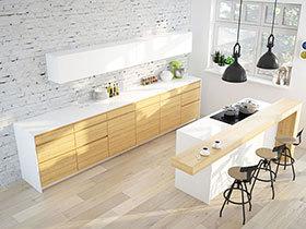 20款极简厨房设计  简约但不简单