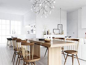 20款时尚厨房设计  让厨房与餐厅相融
