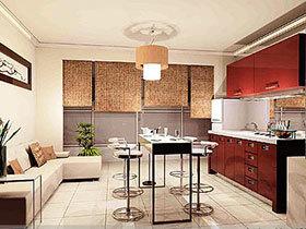 20种厨房餐厅二合一设计 宽敞方便