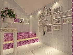 卫生间也可以小清新 17款彩色卫浴间欣赏
