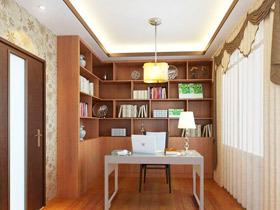 中式书房设计效果图 21款中国风书架